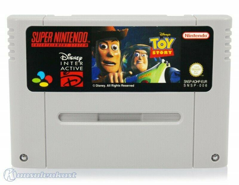 TOY STORY PAL - SNES - SEMINUEVO