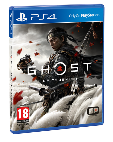 GHOST OF TSUSHIMA EDICION ESTANDAR - PS4