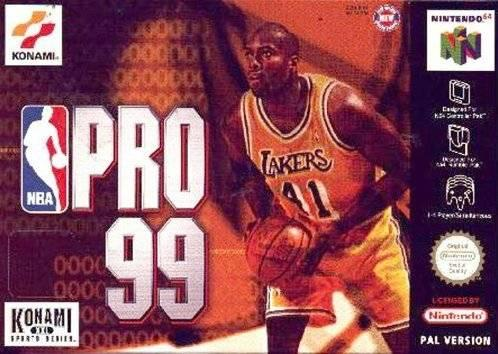 KOBE BRIANT IN NBA COURTSIDE - NINTENDO 64 - SEMINUEVO