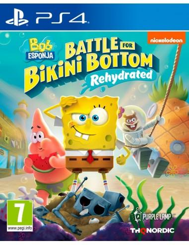 BOB ESPONJA: BATTLE FOR BIKINI BOTTOM REHYDRAT - PS4