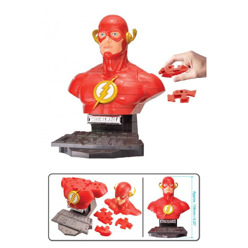 PUZZLE 3D FLASH DC COMICS