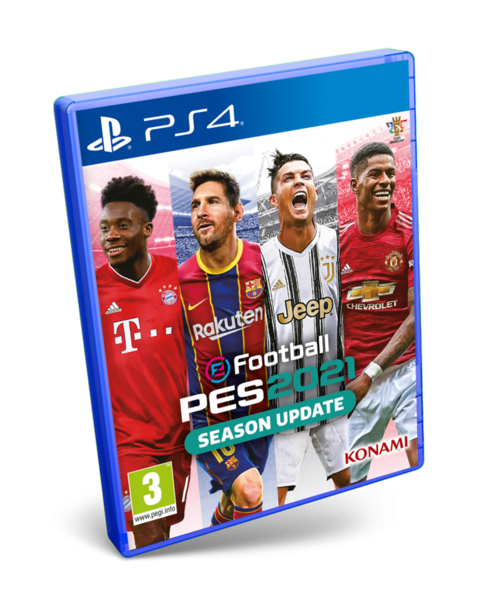 PES 2021 SEASON UPDATE - PS4