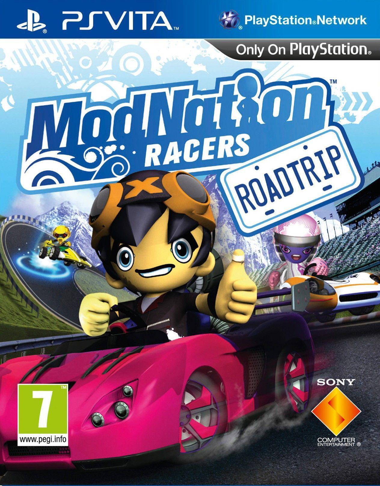 MODNATIONS RACERS ROADTRIP - PSVITA - SEMINUEVO
