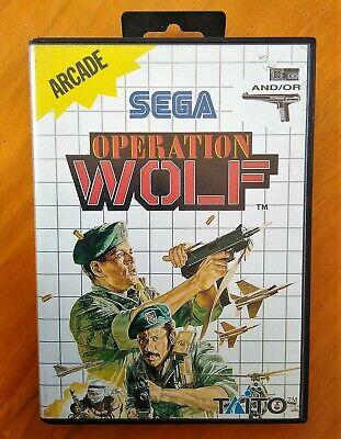 OPERATION WOLF - MASTER SYSTEM - SEMINUEVO