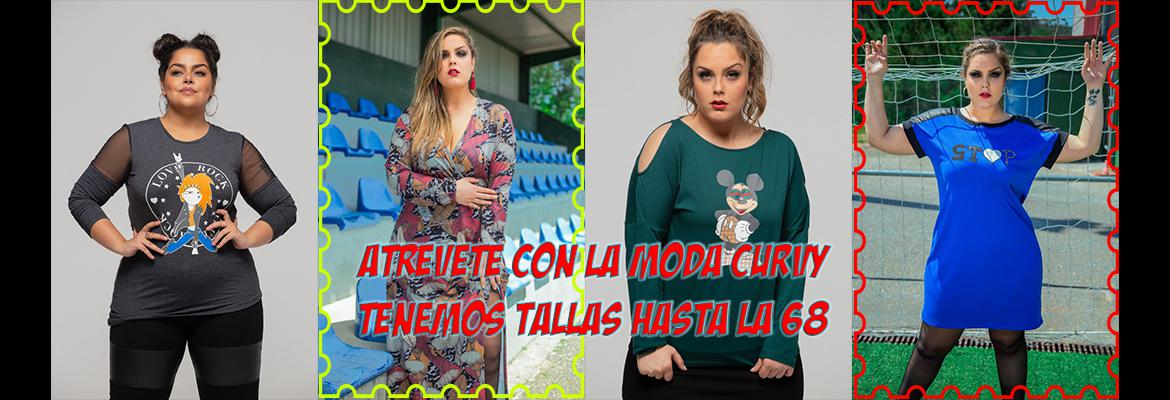 Moda Curvy Y Tallas Grandes Be Happy Urban Curvy Shop