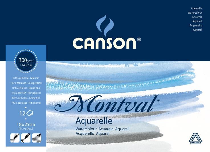 BLOC-ACUARELA-MONTVAL-CANSON
