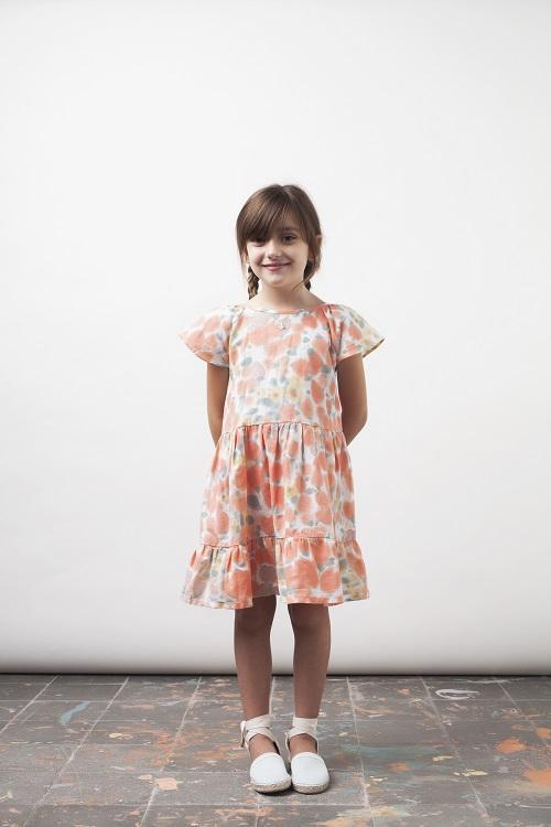 Vestido de Tocotó Vintage con estampado floral