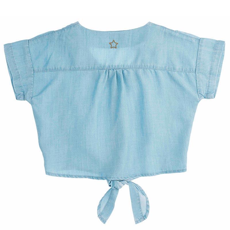 Blusa Tencel con nudo de Tocotó Vintage