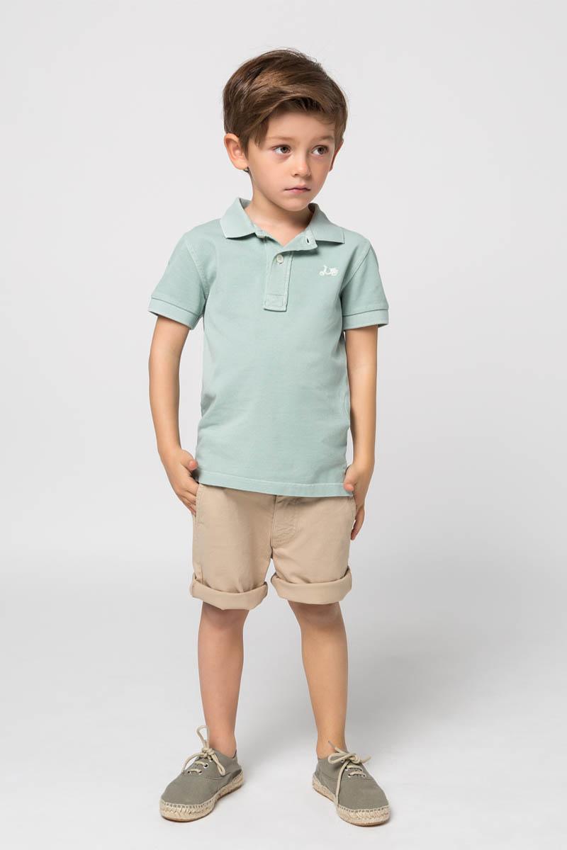 Bermuda beige infantil de la marca Scotta