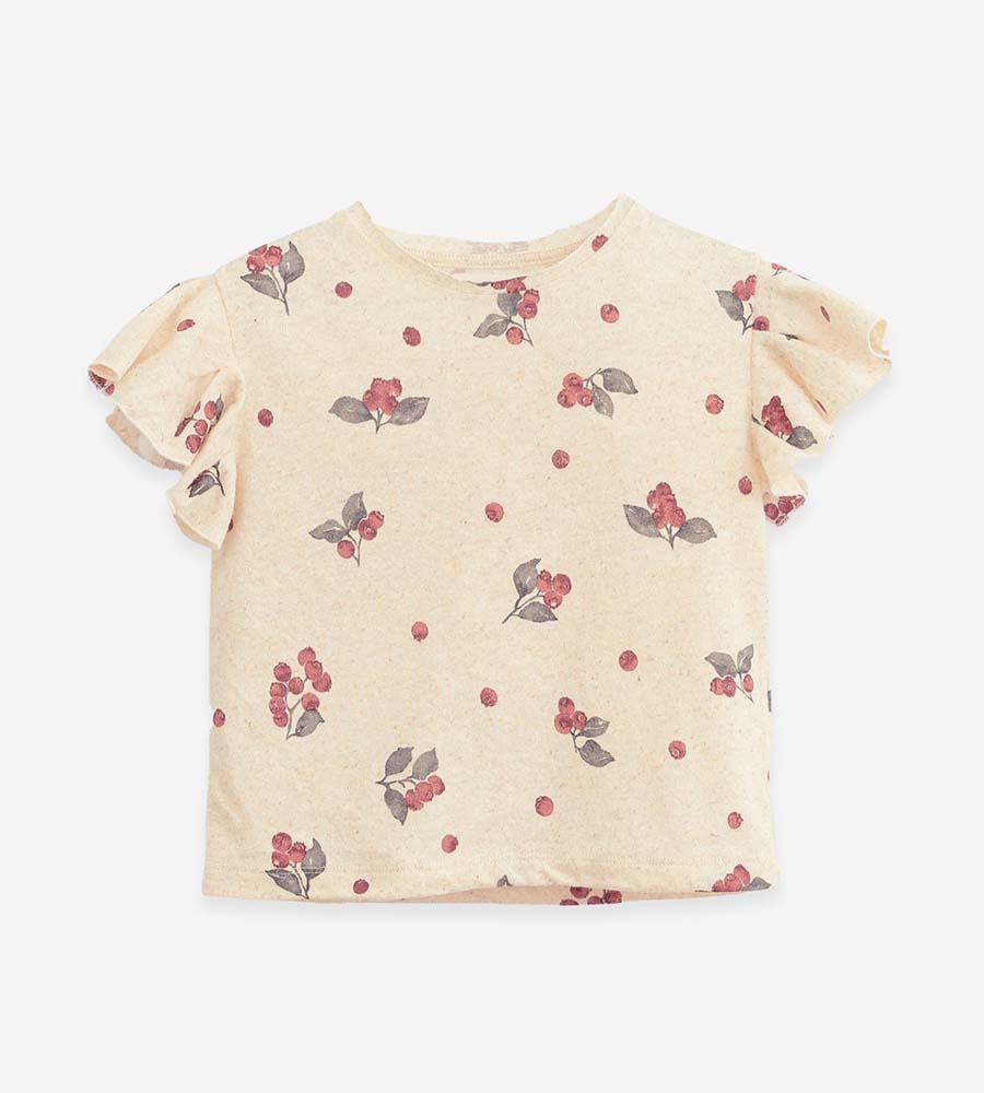 Camiseta con estampado de arándanos de la marca Play Up