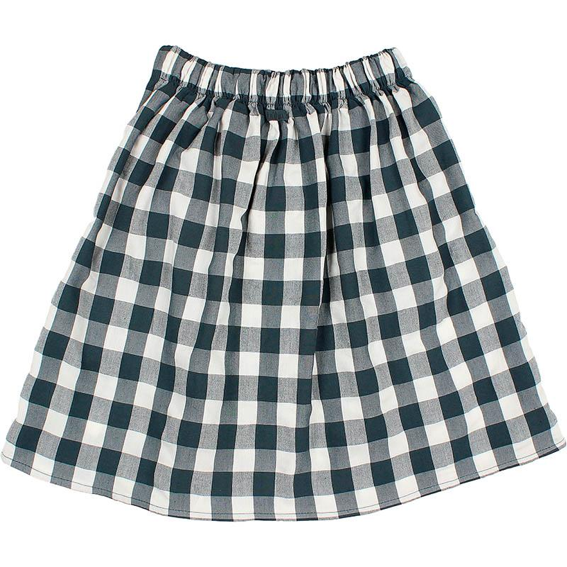 Falda de cuadros de la marca Búho Barcelona