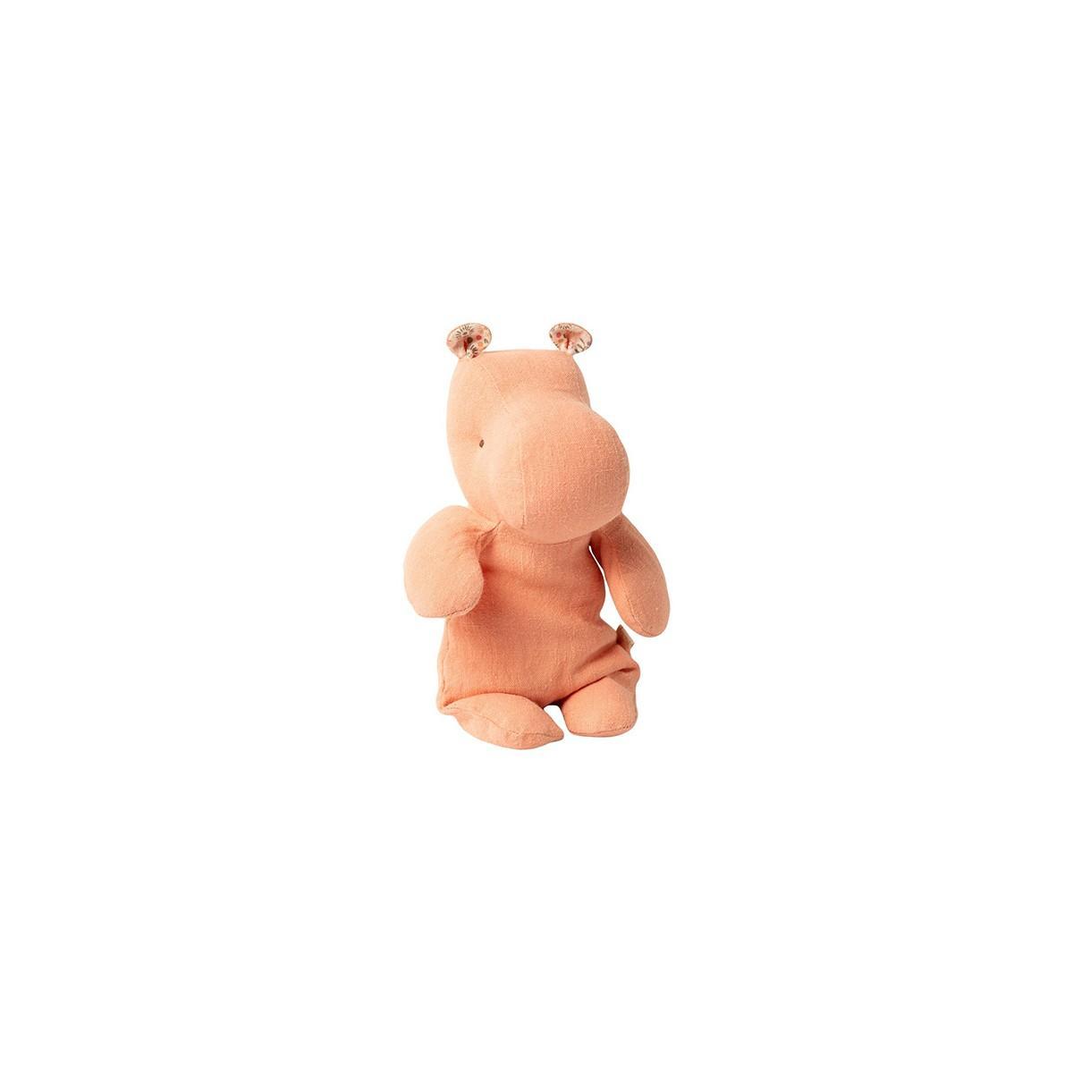Hipopotamo en color albaricoque de 22 cm de Maileg