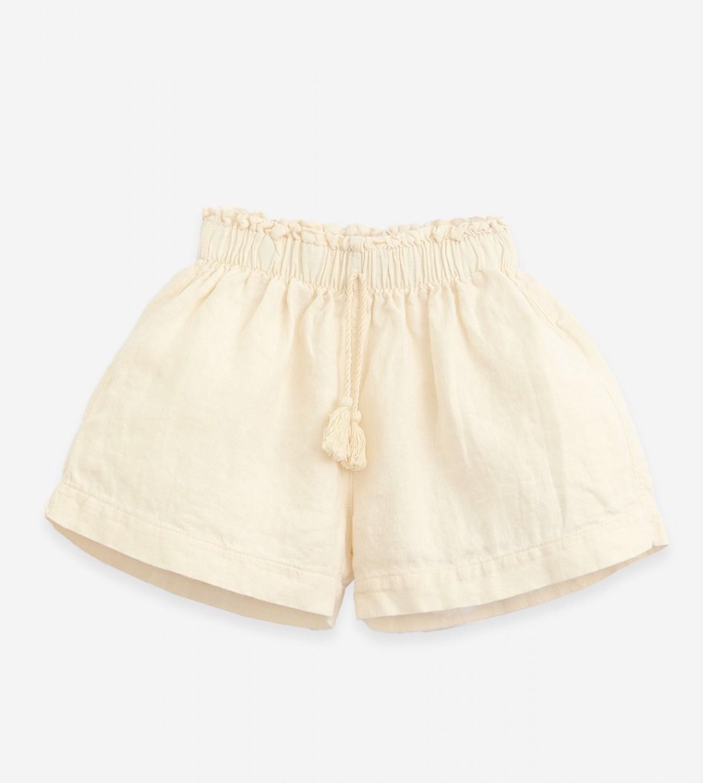 Pantalon corto con cordón Beige de Playup