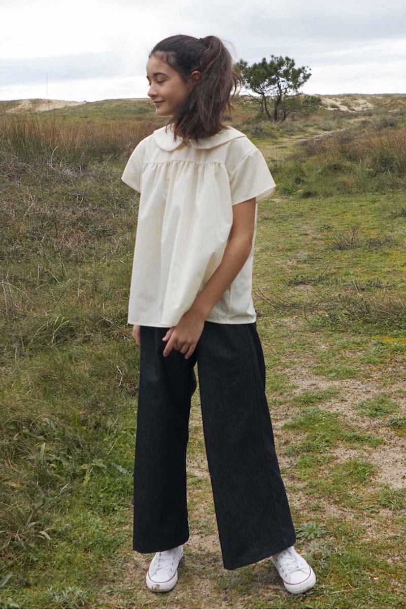 Pantalon Capri color Negro de Mia