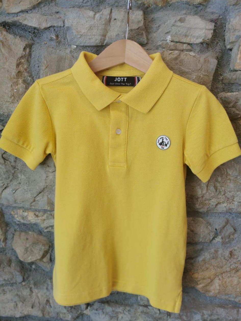 Polo infantil color amarillo de Jott