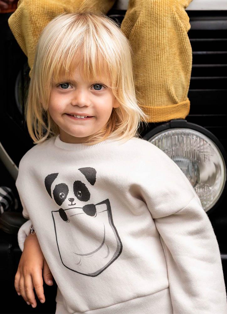 Sudadera Oso Panda de Mia y Lia
