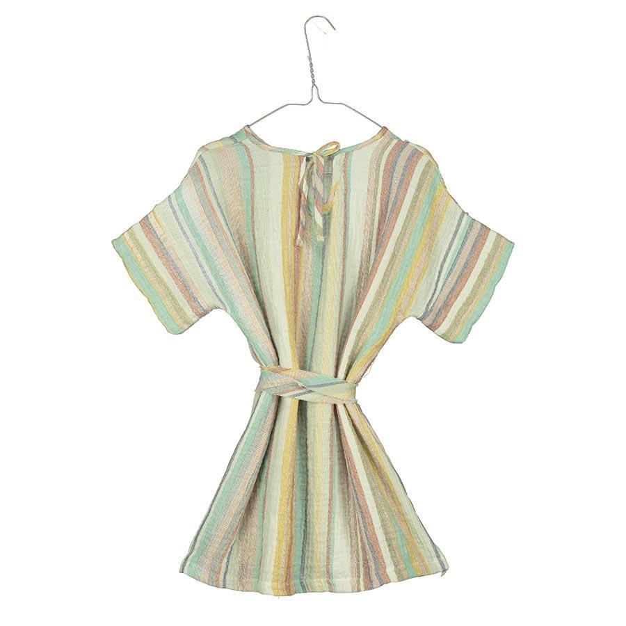 Vestido rayas pastel de Tarantela
