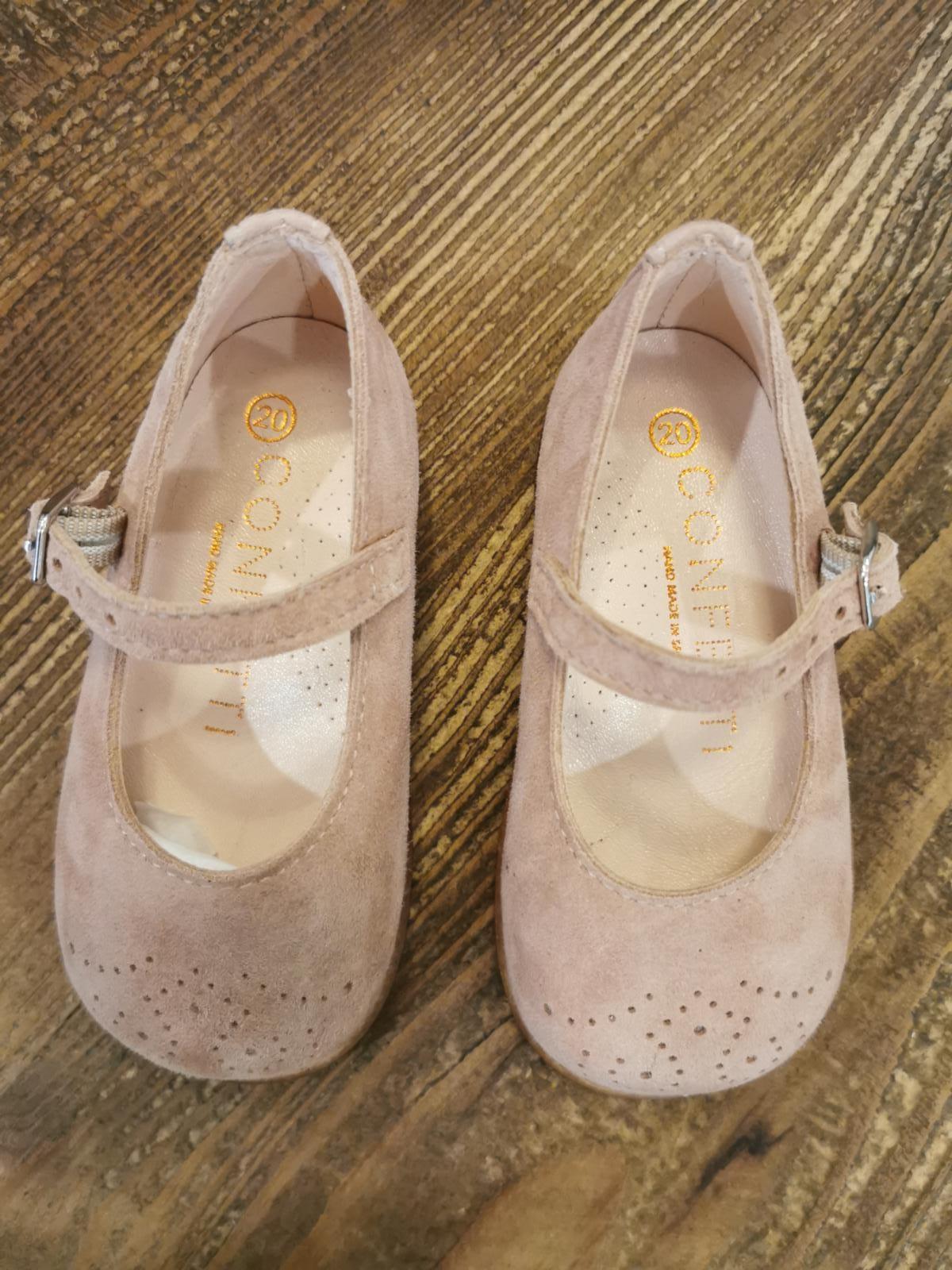 Zapato Bebé color rosa