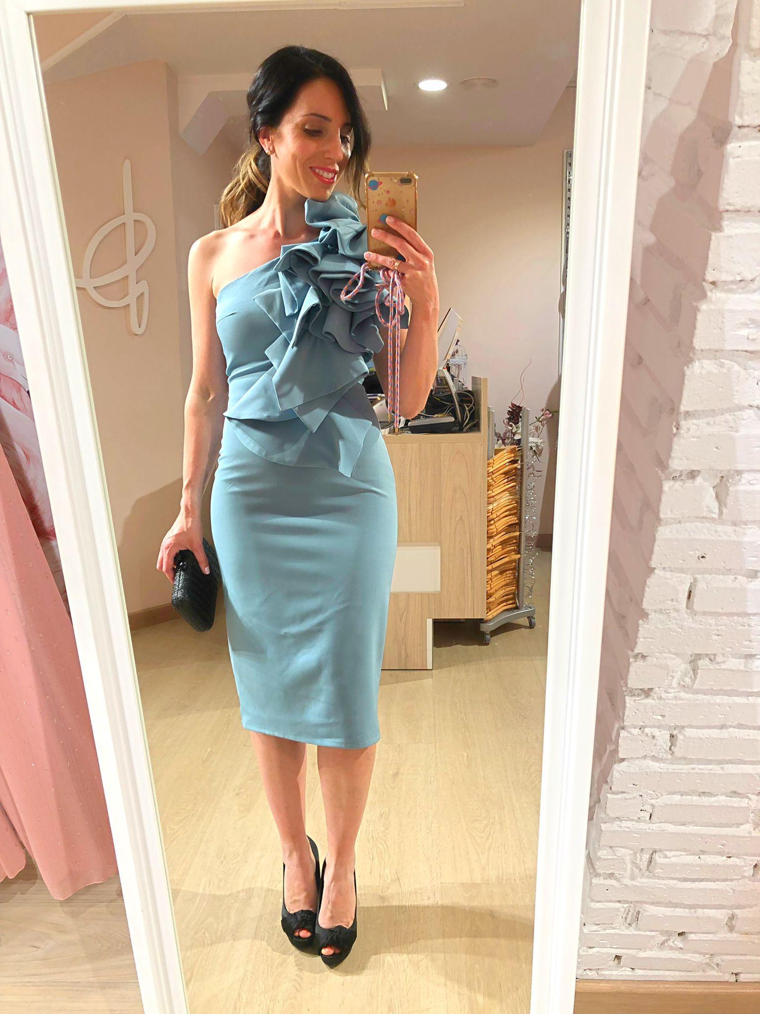 Vestido Asimetrico Elise