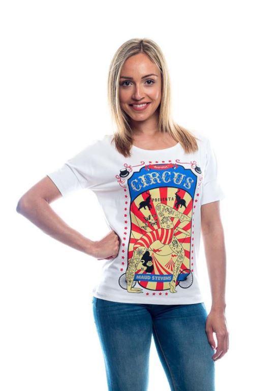 Camiseta manga corta circo