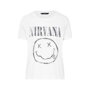 camiseta manga corta de Nirvana