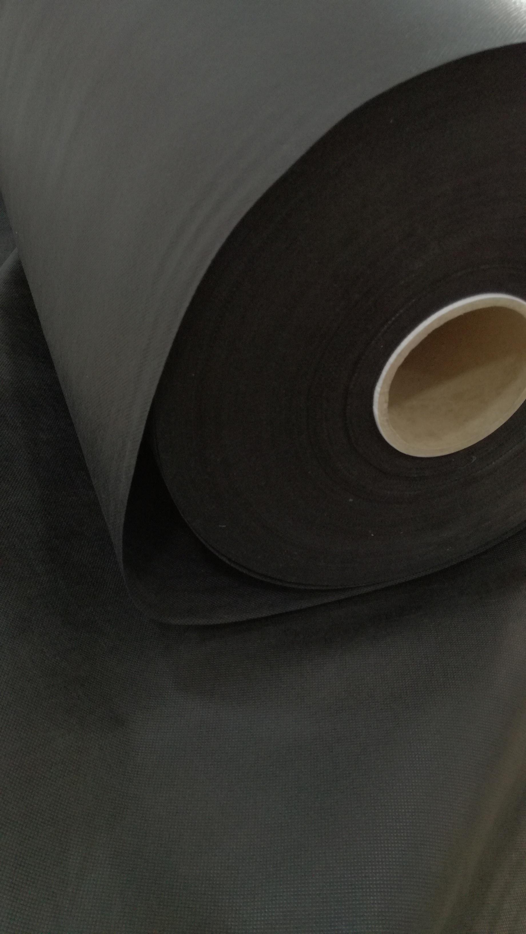 tejido tnt hidrofugo negro