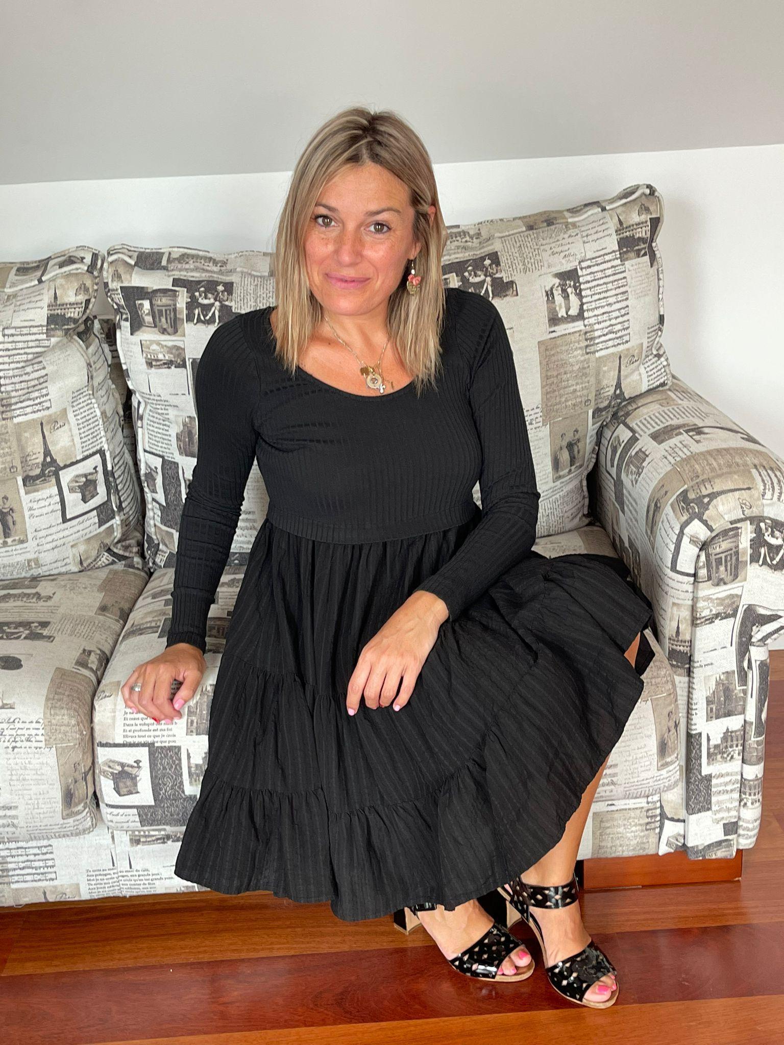 VESTIDO JANE NEGRO DE MAGGIE SWEET