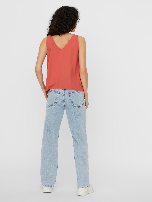 blusa tirantes con botones sasha vero moda