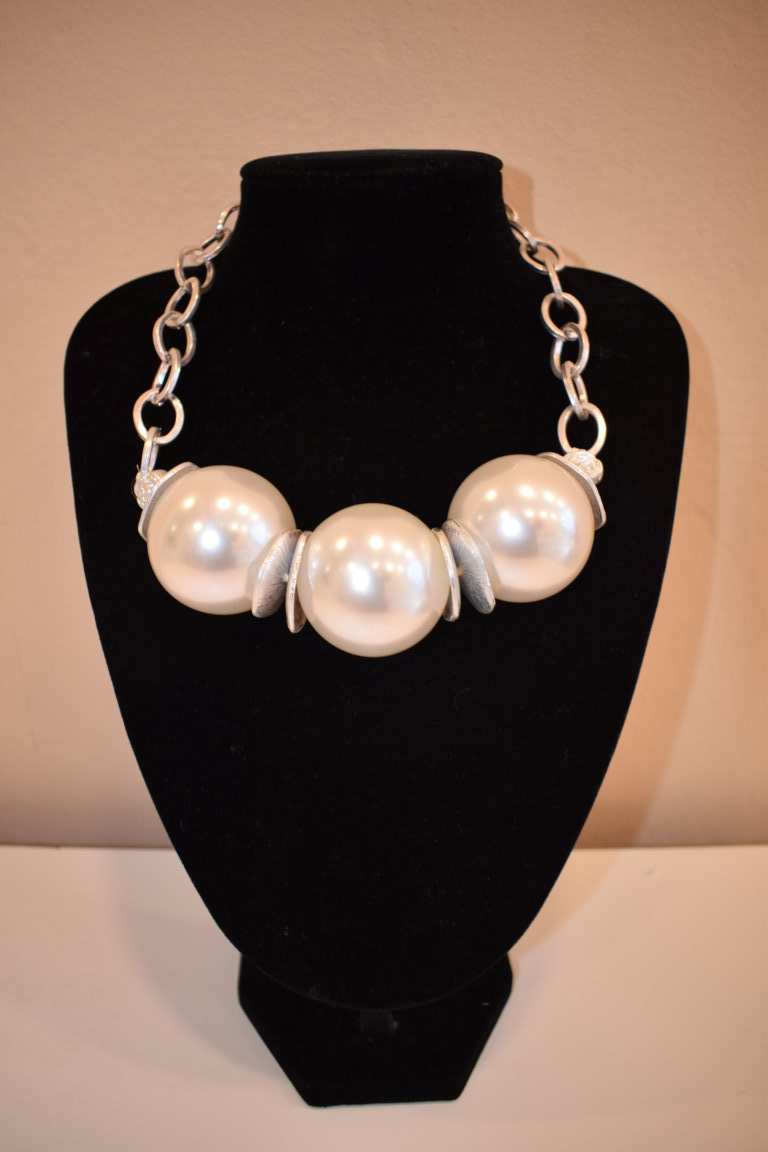 Collar maxi perlas