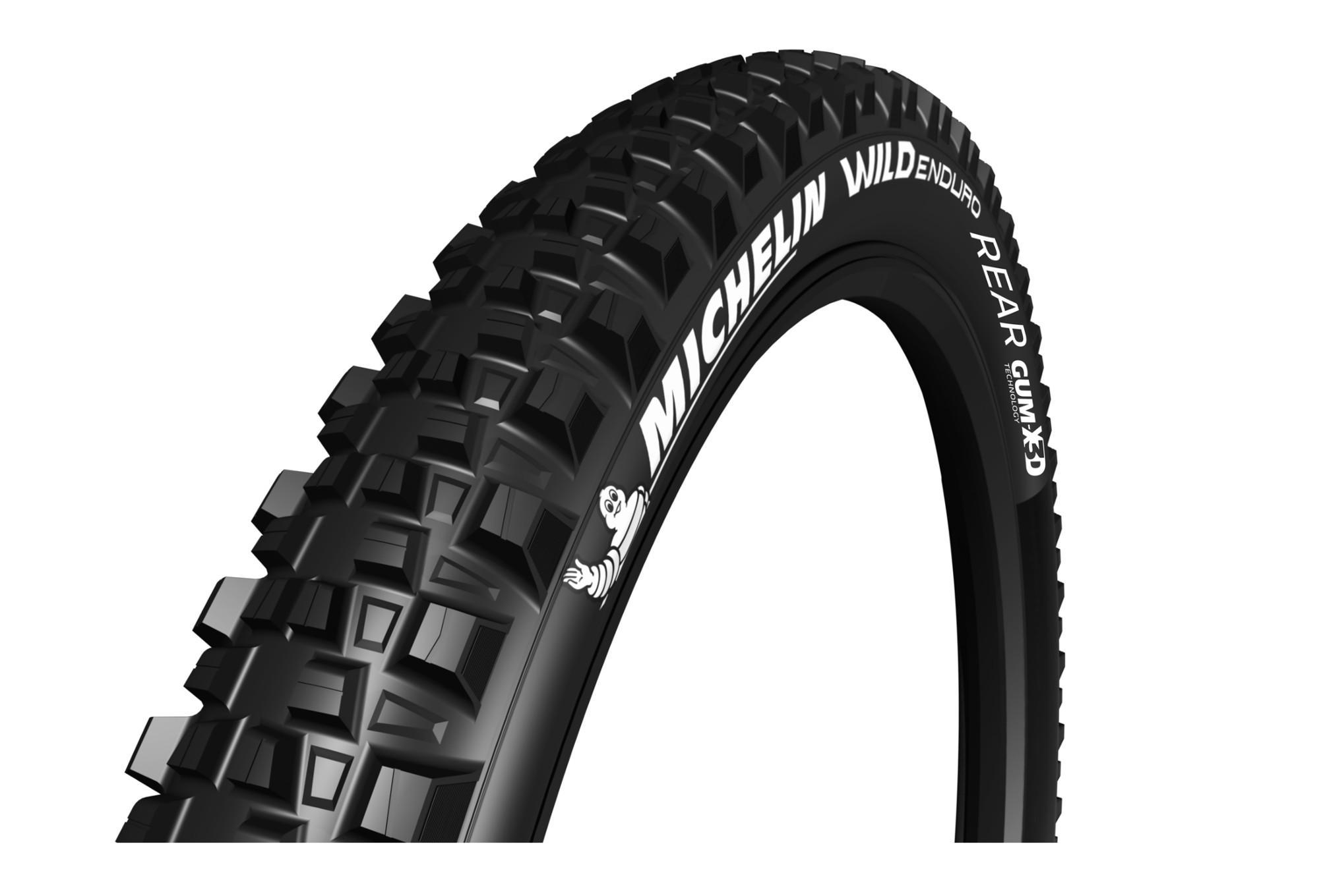 Michelin Wild Enduro Rear Gum-X TS 27.5x2.40 Plegable