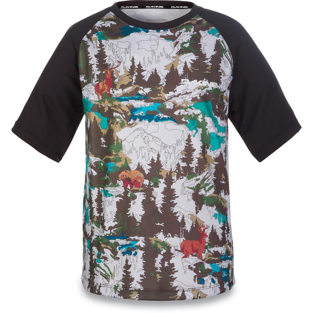 Camiseta Dakine Kids Dropout Color by Numbers M/C