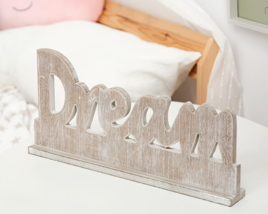 Rótulo Dream 40x5x19cm Kiokids