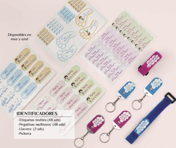 Etiquetas personalizadas para textil o multiusos