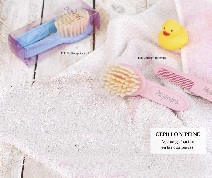 Cepillo y Peine Bebé Personalizado