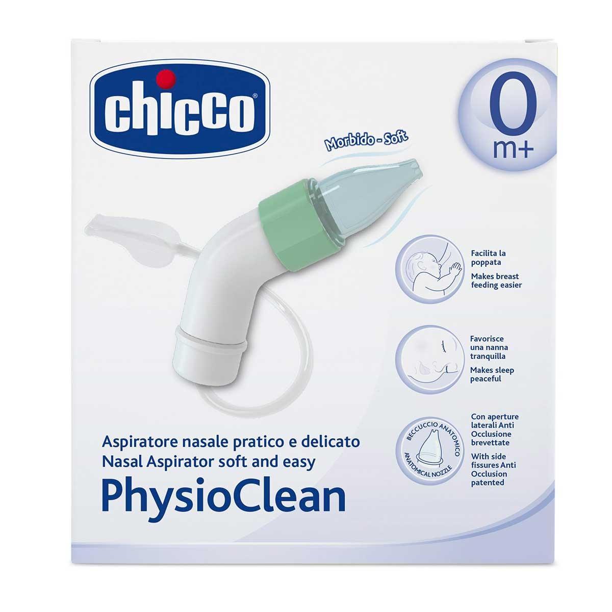 Aspirador Nasal Physio Clean + 3 Sondas Chicco