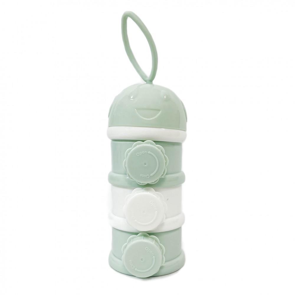 Dosificador de leche en polvo 3 niveles Mint Kikkaboo