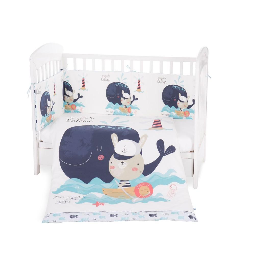 Juego Cuna 2 piezas Happy Sailor 60x120 de Kikka Boo