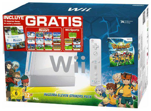 WII INAZUMA ELEVEN STRIKERS PACK