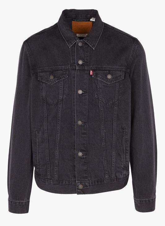 THE TRUCKER JACKET DARK GREY LEVIS