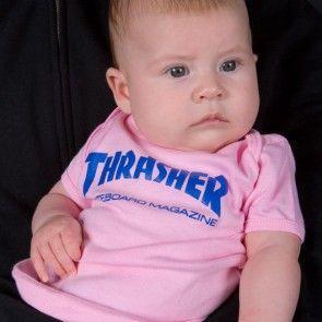 SKATEMAG PINK THRASHER