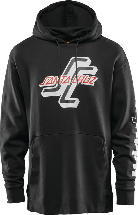 Thirty two X Santa Cruz black hoodie