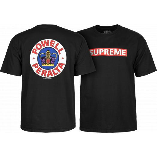 TEE SUPREME BLACK POWELL PERALTA