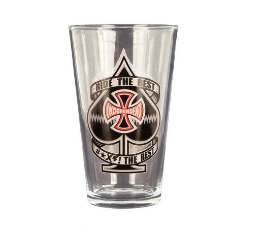 ANTE PINT GLASS INDEPENDENT