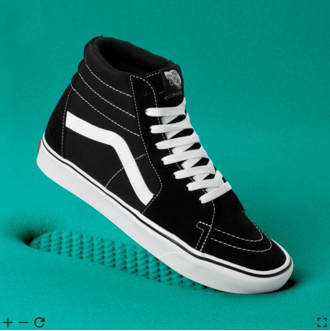 VANS ComfyCush SK8-Hi Black/White