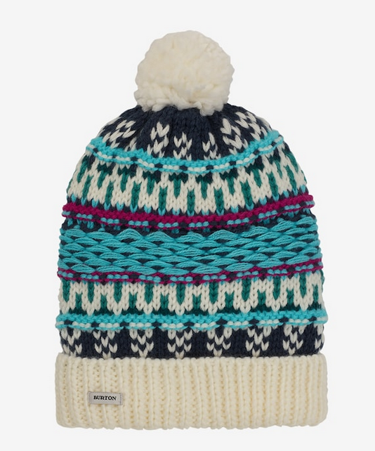 Walden Beanie Dress Blue BURTON