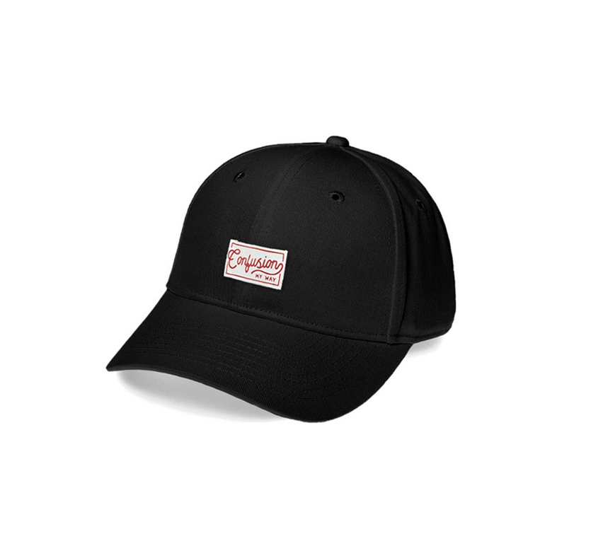 HANDCRAFTED BLACK CAP CONFUSION