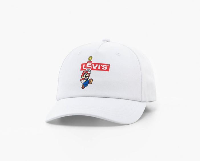 Mario Box Tab Logo gorra LEVIS