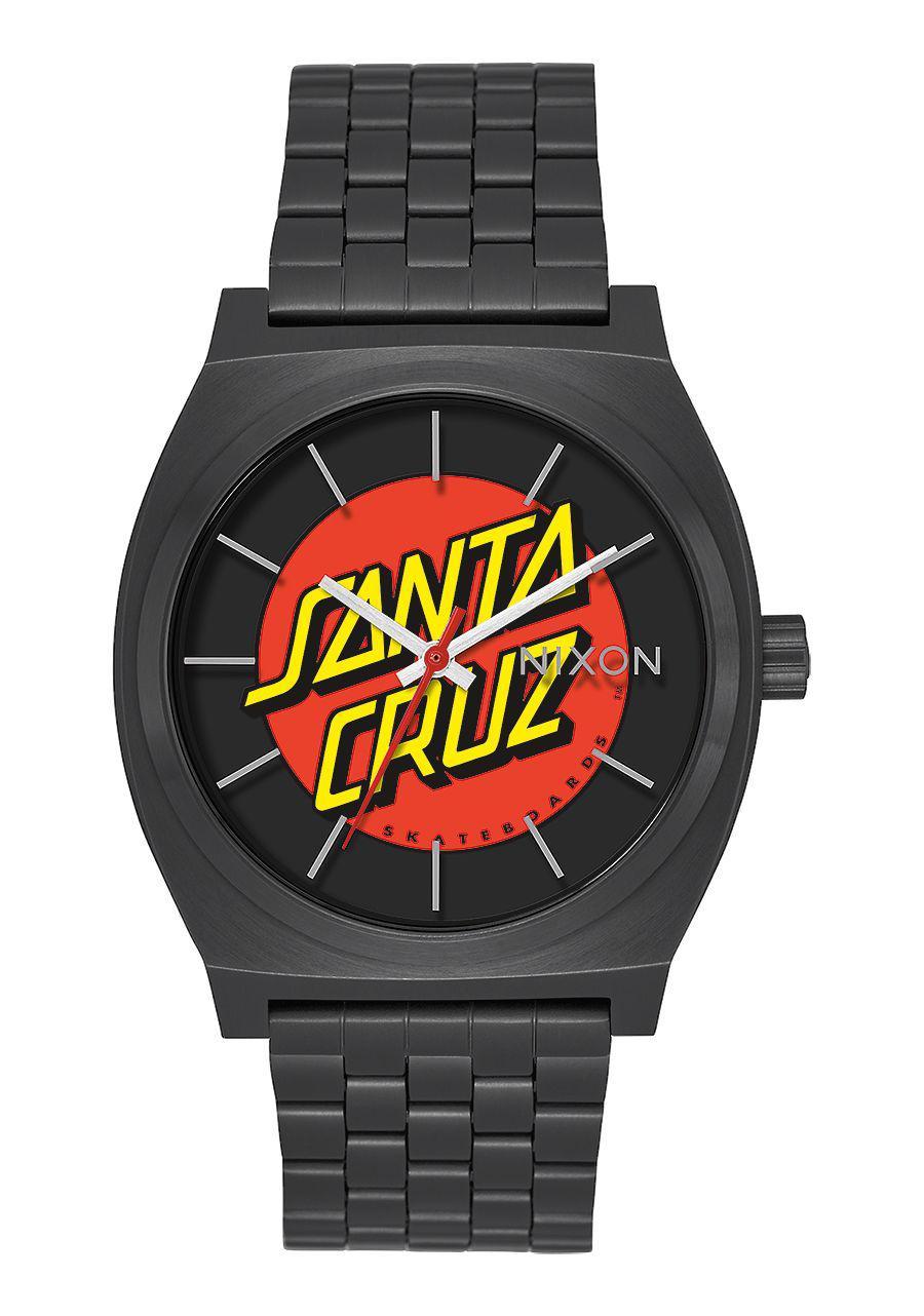 Time Teller Black SANTA CRUZ X NIXON