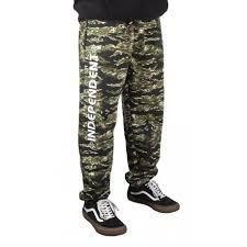 SWEATPANT BAR CROSS  TIGER CAMO INDEPENDENT