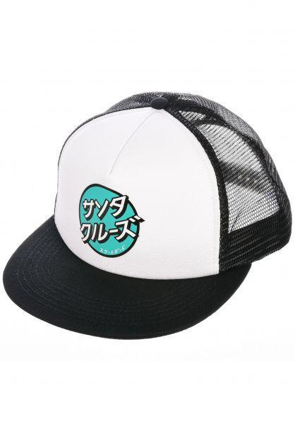 CAP OTHER JAPANESE DOT WHITE SANTA CRUZ